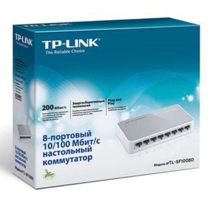 Коммутатор TP-Link TL-SF1008D 8 портов