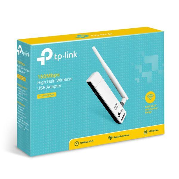 USB адаптер Wi-Fi TP-Link TL-WN722N