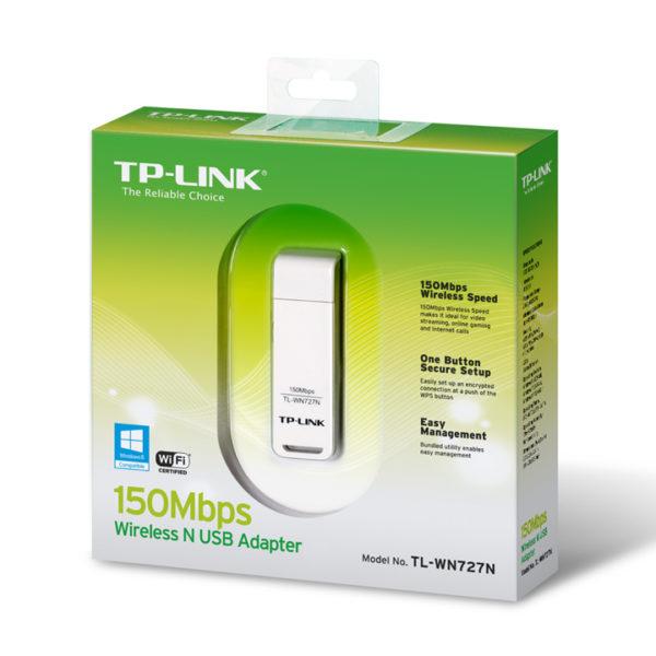 Беспроводной Wi-Fi USB-адаптер TP-Link TL-WN727N