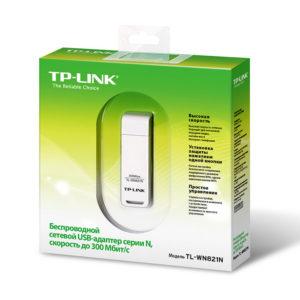 Беспроводной USB Wi-Fi адаптер TP-Link TL-WN821N