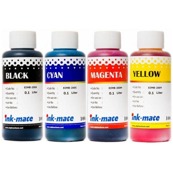 Комплект чернил Ink-Mate EIMB-200 4x100 мл