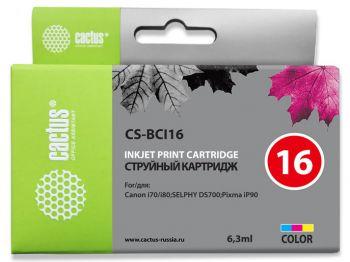 Картридж Canon BCI-16 в принтер Pixma iP 90 аналог