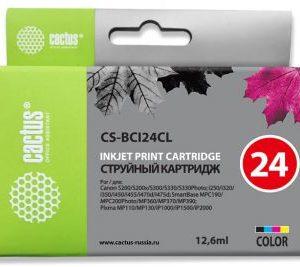 Картридж Canon BCI-24CL для Canon i250/i320 аналог