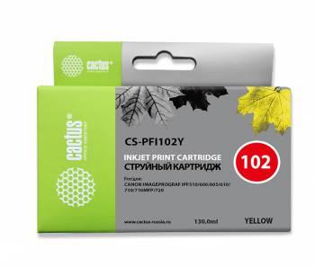 Картридж PFI-102Y желтый для Canon iPF750/iPF760