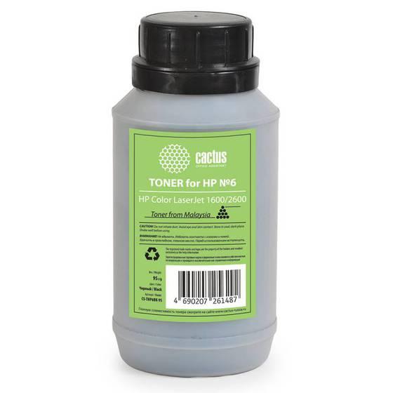 Тонер в принтер HP 1600/2600 95 гр. Cactus черный
