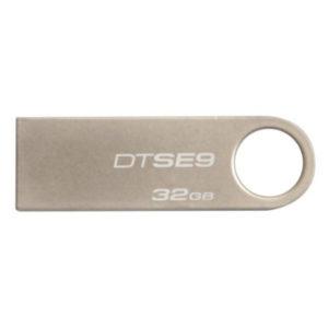 Металлическая USB флешка 32 Гб Kingston DTSE9H