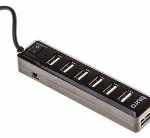 Разветвитель USB 2.0 Buro 7 портов BU-HUB7-1.0-U2.0