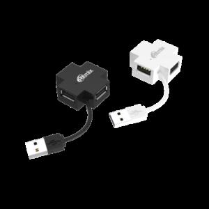 Разветвитель USB 2.0 4 порта Ritmix CR-2404