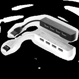 Разветвитель USB 2.0 4 разъема Ritmix CR-2406