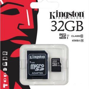 Карта памяти microSDHC 32 Гб Kingston класс 10