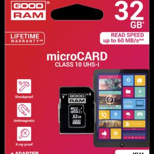 Карта памяти microSDHC 32 Гб GoodRam класс 10