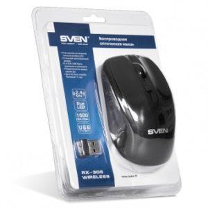 Беспроводная компьютерная мышь SVEN RX-305