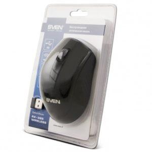 Беспроводная компьютерная мышь SVEN RX-325 черная