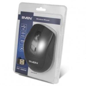Беспроводная оптическая мышь SVEN RX-425W черная
