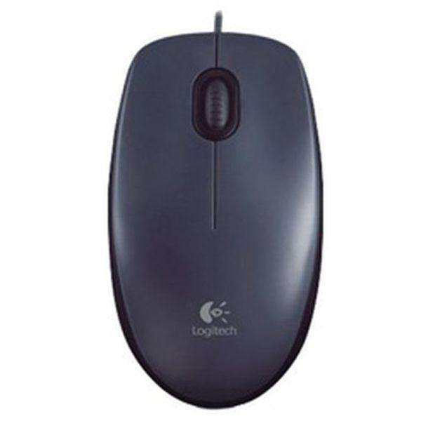 Проводная оптическая мышь Logitech M90 USB