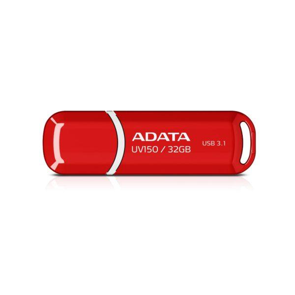 USB накопитель 32 Гб ADATA UV150 USB3.0 красный