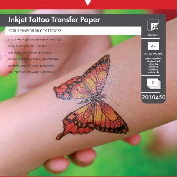 Бумага для временных татуировок Lomond A4 глянец