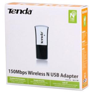 Беспроводной USB Wi-Fi адаптер Tenda W311M