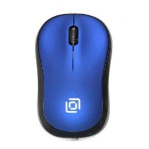 Беспроводная оптическая мышь Oklick 655MW синяя