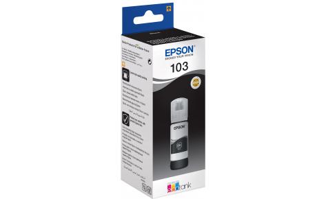 Чернила в Epson L3100, L3101, L3110, L3150 черные