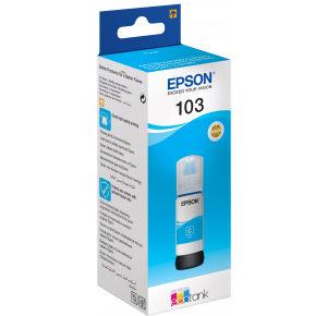 Чернила Epson 103 в принтер L3100, L3150 голубые