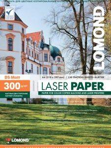Бумага для лазерной печати Lomond A4 300 матовая