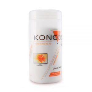 Влажные салфетки Konoos KBF-100 для экрана 100шт