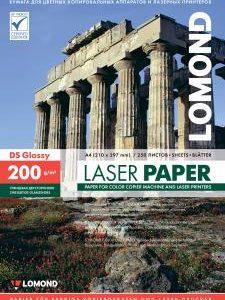 Фотобумага для лазерного принтера 200 глянцевая