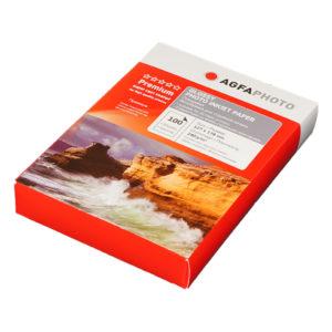 Фотобумага AGFA 13*18 глянцевая 240 гр. 100 лист