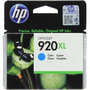 Картридж HP 920 XL голубой OfficeJet 6500 7500
