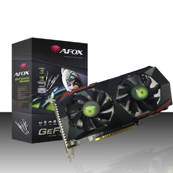 Видеокарта AFOX GTX 1050 Ti 4GB GDDR5 128bit