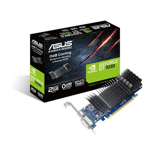 Видеокарта ASUS GT 1030 2GB GDDR5 64bit бесшумная