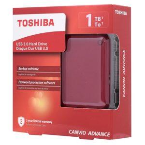 "Внешний накопитель Toshiba 1TB 2.5"" Canvio Advance"