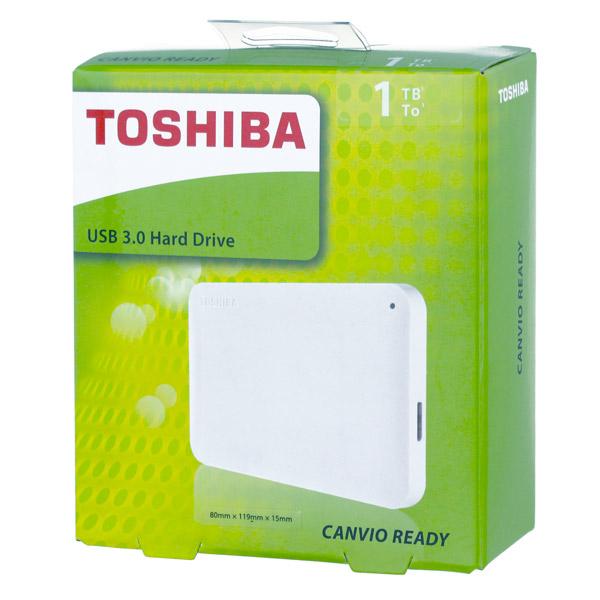 """Внешний накопитель Toshiba 1TB 2.5"""" Canvio Ready"""