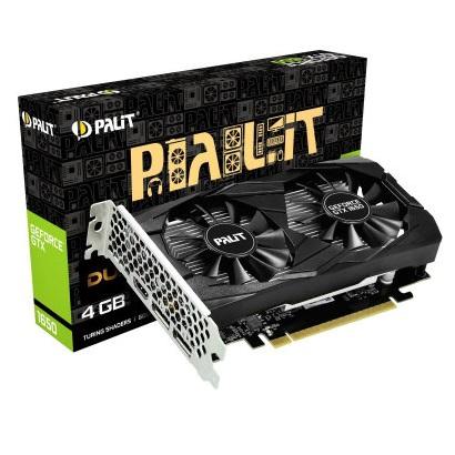 Видеокарта Palit GTX 1650 Dual 4GB GDDR5 128bit