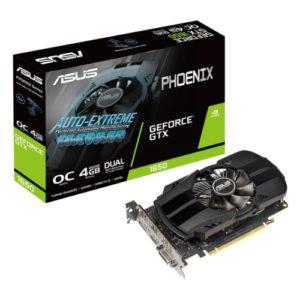 Видеокарта ASUS GTX 1650 Phoenix OC 4GB GDDR5 128bit
