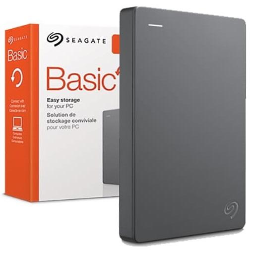 """Внешний накопитель Seagate 1TB 2.5"""" Basic Gray"""
