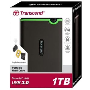 Внешний диск 1TB Transcend StoreJet 25M3 USB3.0
