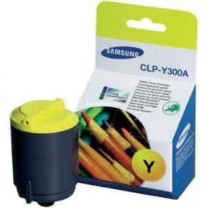 Картридж аналог Samsung CLP-Y300A CLP-300 CLP-300N
