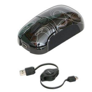 Оптическая мышь A4Tech K3-23e съемный кабель