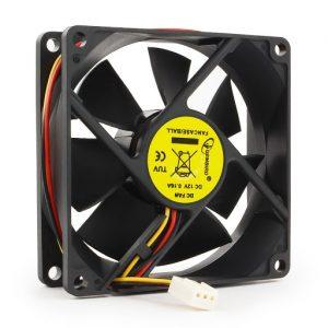 Вентилятор для корпуса FANCASE/BALL Gembird 80x80x25
