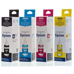 Чернила White Ink для Epson T664, 103 фасовка 70мл