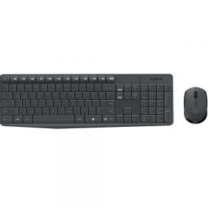 Беспроводной комплект Logitech MK235 клавиатура мышь